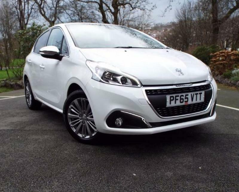 peugeot 208 1 2 puretech 110 allure 5 door turbo charged white 2015 in blackburn. Black Bedroom Furniture Sets. Home Design Ideas