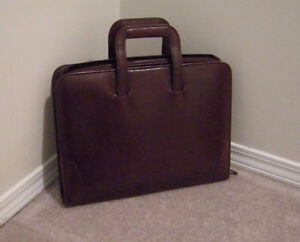 Sturdy Leather Brief Case