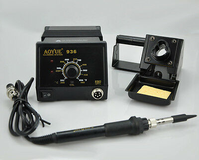 220v Aoyue 936 Soldering Station Soldering Iron Repair Rework Station