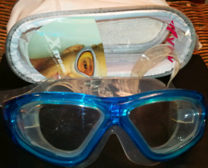 Xtreme Swim in Style Blue Water Sports Goggles