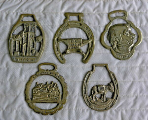 Horse Medallions (Solid Brass) 5 on Choice