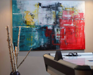 Unique and Original Abstract Paintings on Canvas