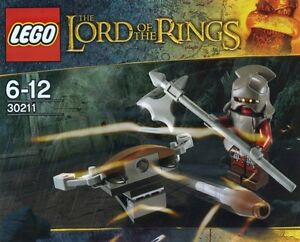 LEGO LOTR LORD OF THE RINGS Uruk-Hai with ballista BRANDNEW SEAL