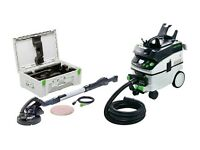 USED Festool Long-reach sander PLANEX LHS 225 CT 36 set LHS 225-IP/CTM 36 Set GB 110V