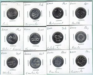 Canada Commemorative quarter coins 1967-2015 Windsor Region Ontario image 3