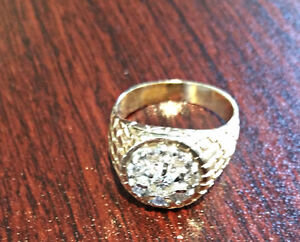 Men's Diamond Ring Size 12