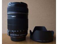 Canon 18-135mm Lens