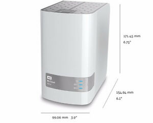 WD My Cloud 6 TB storage and remote access