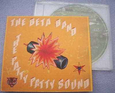 THE BETA BAND The Patty Patty Sound CARD SLIPCASE Indie Britpop - The Band Cake