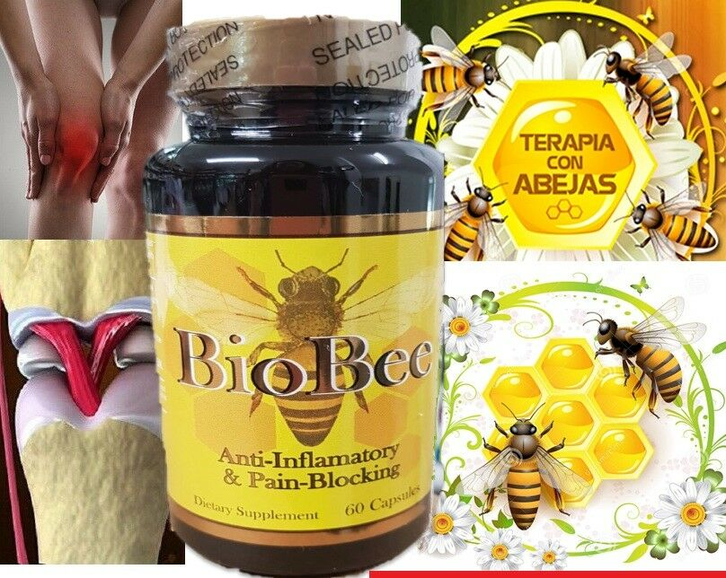BIOBEE anti-inflamatory Extracts Arthritis Pain abeemed bio bee therapy NIB pain