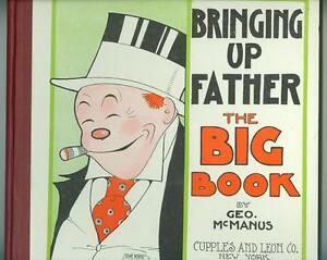 Bringing-Up-Father-the-Big-Book-1-F-VF-1926-Rare-with-dustjacket