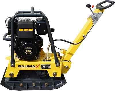 Rüttelplatte BAUMAX RVP32/52 Diesel 195 kg, reversierbar, inkl. Verbreiterungen