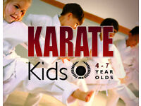 KARATE KIDS - New classes in Alloa