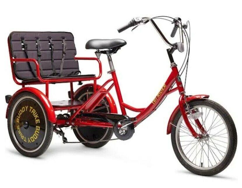 Belize Bike Buddy Trike Red Rickshaw passenger tricycle (Used - 650 USD)
