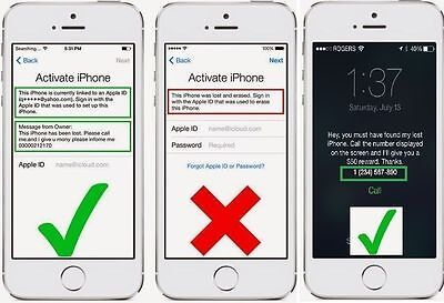 iCloud Removal Service iPhone iPad all models (1-4 days)