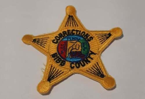Bibb County Corrections Alabama AL US Police Patch Vintage