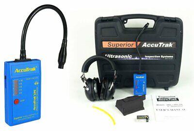 Accutrak Vpe-gn Professional Kit Ultrasonic Leak Detector With Gooseneck