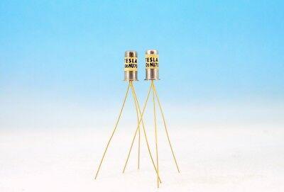 106nu70 Matched Pair Tesla Gold Germanium Npn Fuzz Effect Transistors