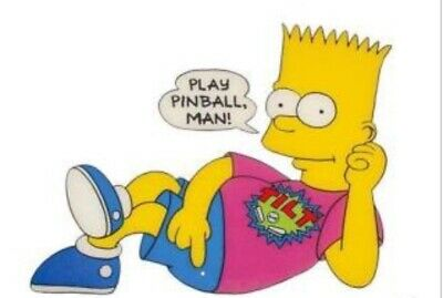 Simpsons Pinball Bart Simpson Topper