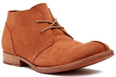 235d0ccf4c6 NIB Born Gabe Zydeco Suede Chukka Boot Men's Shoes Orange Size 9.5