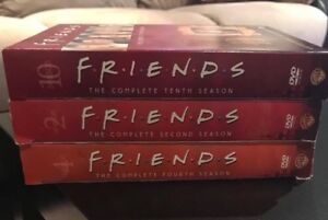 FRIENDS BOX SETS...3 FULL SEASONS ONLY $10 total