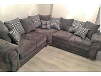 💥brand new beautiful Verona corner sofa available🌷 made in UK cash on delivered. 🌻🚚🚛🚚