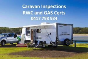 Caravan Roadworthy and Gas Certificate