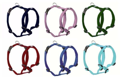 "Hunter Nylon Hunde Geschirr ""Vario Ypsilon"", 10 Farben + 6 Größen, Brustgeschirr"