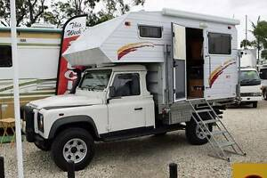 2010 Landrover Discovery 130 with Slide On Camper Motorhome Biggera Waters Gold Coast City Preview