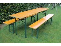 German beer table - Very good condition - 2.2 metres length