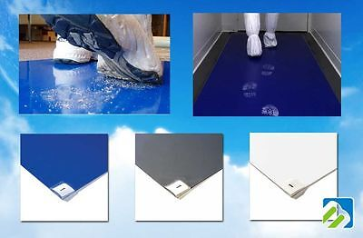 (Updated Cleanroom Usage Dust Remover Cleanroom Adhesive Sticky Tacky Mats 24x36