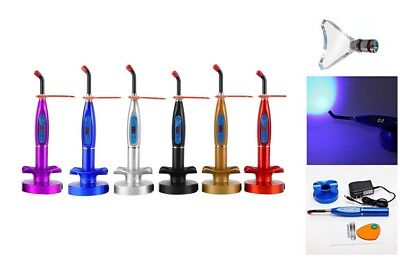 Wireless Dental Led Curing And Whitening Light Lamp 5w 1500mwcm Blue Light