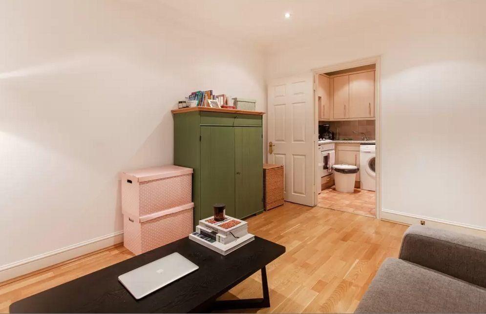 Linen cabinet, green - Ikea HURDAL lockable   in Lambeth, London ...