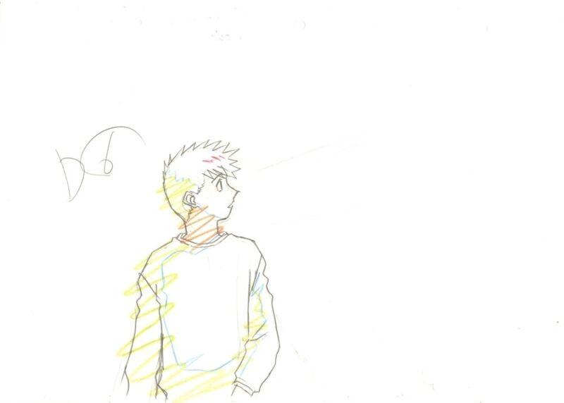 Anime Genga not Cel Ah My Goddess 2 pages #57
