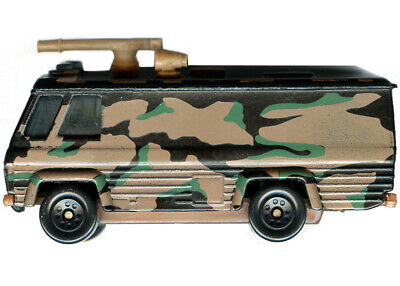 Matchbox - Command Vehicle (1:64, Diecast) army, military, cars, 1980, VINTAGE