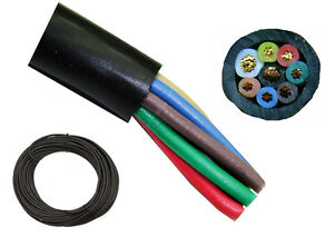 100' High Quality 8 Conductor Rotor Wire - Antenna Rotator Cable - Eight Wire