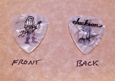 Doug Aldrich band signature guitar pick  -(w)
