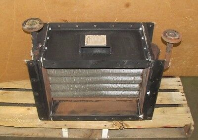 Wellman Hunt Graham 162c 6.02 Barg. 25 X 18 Rectangle Duct Steam Air Heater