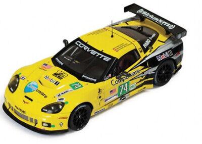 1:43 Chevrolet Corvette C6 n°74 Le Mans 2011 1/43 • IXO LMM220