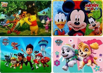Disney Platzdeckchen Tischset PAW Patrol Winnie Pooh Mickey Maus Unterlage