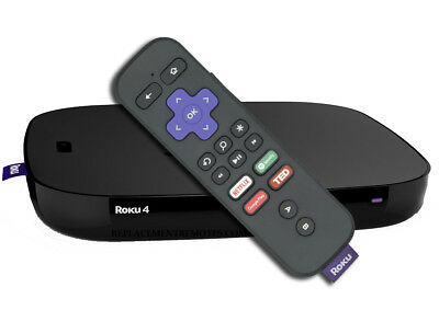 Roku 4 Original Replacement Remote (Control Only) RF Voice/Game/Headphone RCGR4
