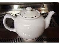 Tea pot for one and tea pot for two