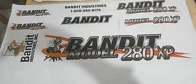 Brush Bandit Wood Chipper Model 280xp Decal Kit