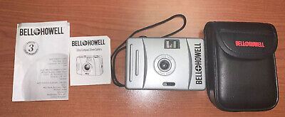 BELL + HOWELL POINT AND SHOOT 35MM FILM CAMERA FOCUS FREE