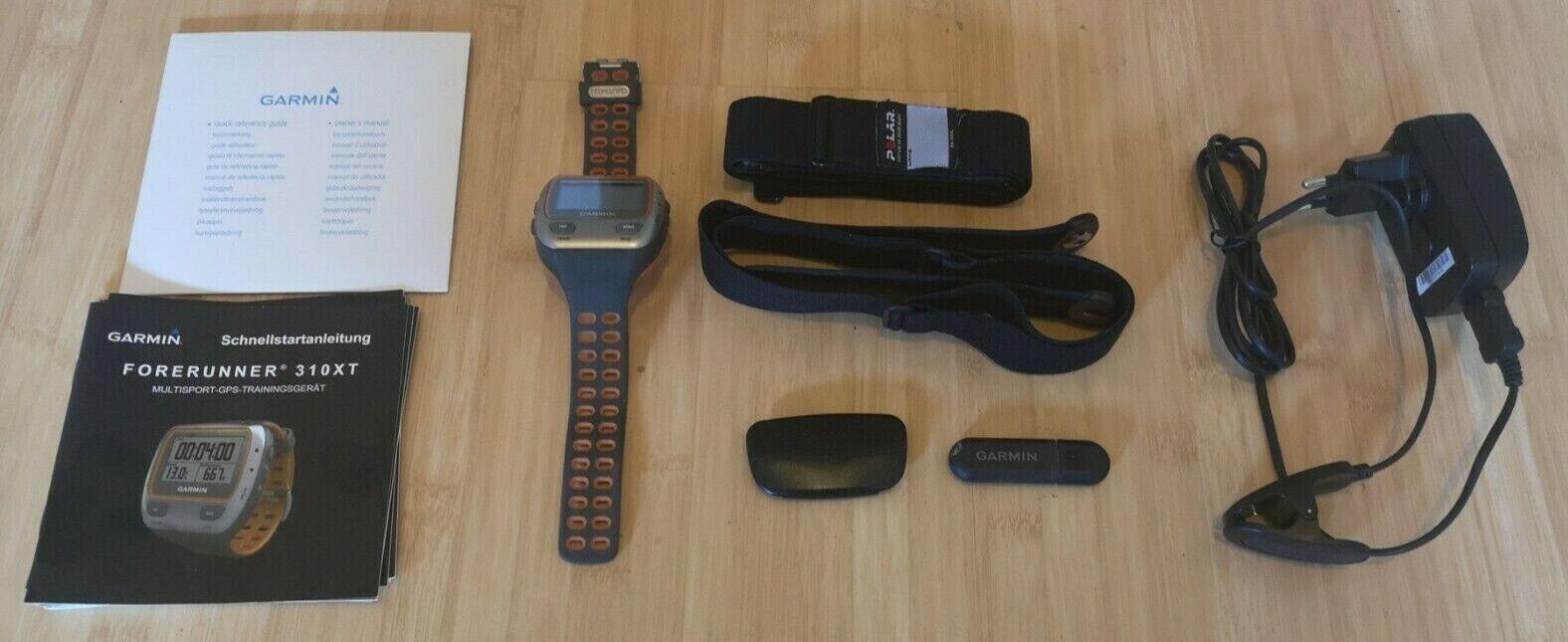 Garmin Forerunner 310XT GPS Sportuhr mit Herzfrequenzsensor