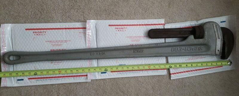 "Aluminum Pipe Wrench super ego 48"" 1200mm"