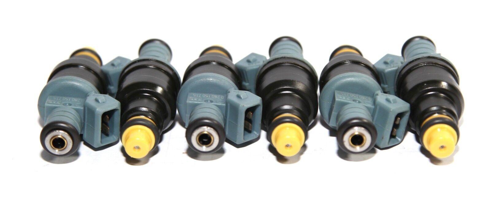 6 Pieces Fuel Injectors for BMW 92-93 BMW 325i //87-89 325is//88-90 325iX 2.5L I6