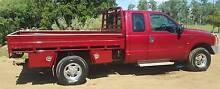 Ford F250 XLT 4 x 4 Tray back Ute Warrill View Ipswich South Preview