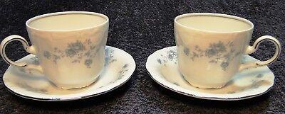 Johann Haviland Bavaria Blue Garland Tea Cup Mug Saucer Sets 2 Excellent Johann Haviland Blue Garland Cup