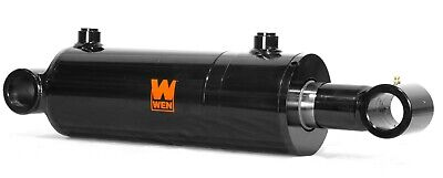 Wen Wt4008 Cross Tube Hydraulic Cylinder With 4-inch Bore And 8-inch Stroke
